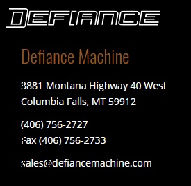 Defiance Machine
